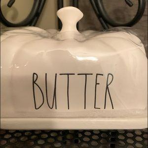 """Rae Dunn Kitchen - NEW Rae Dunn """"BUTTER"""" Pumpkin Dish"""